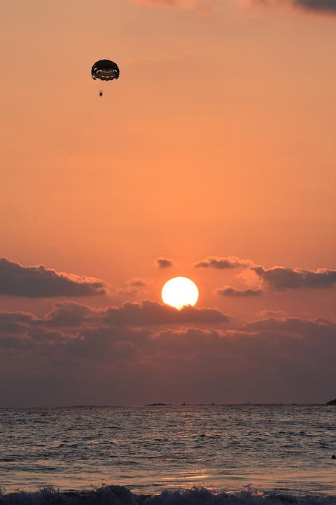 Sunset, Dawn, Dusk, Sky, Sun, Evening, Sea, Water