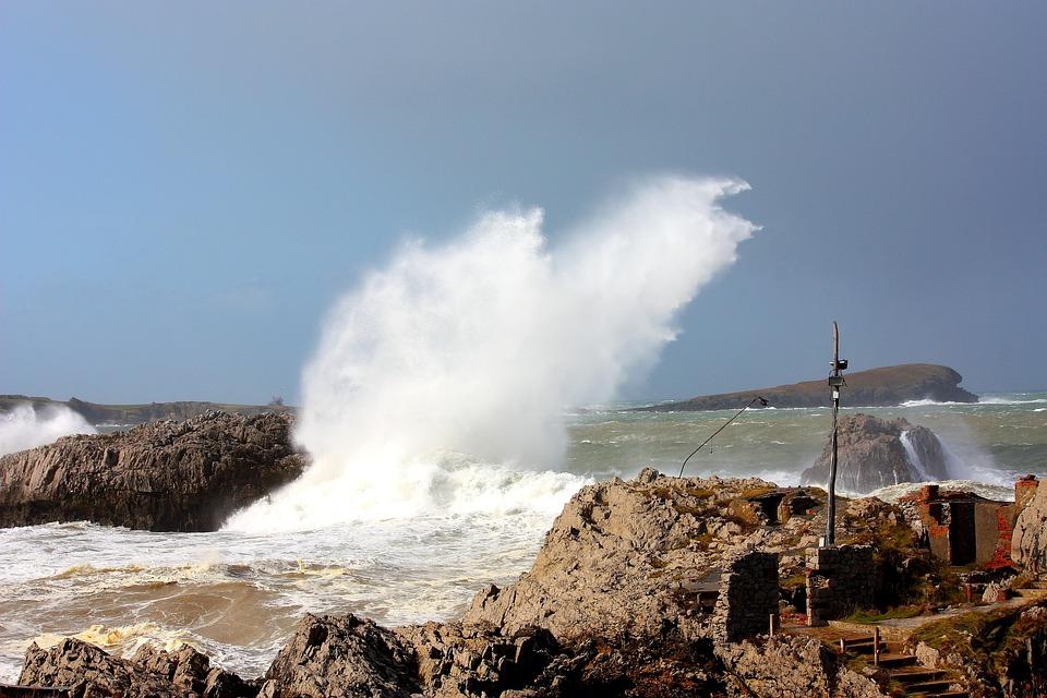 Waves, Sea, Water, Side, Ocean, Atlantic, Landscape