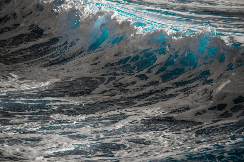 Waves, Water, Sea, Ocean, Surf, Spray, Foam, Splash