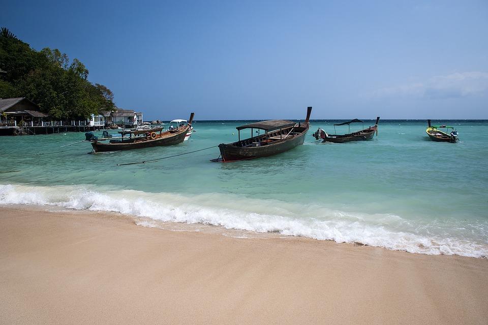 Thailand, Sea, Beach, Water, Vacation, Sand, Summer