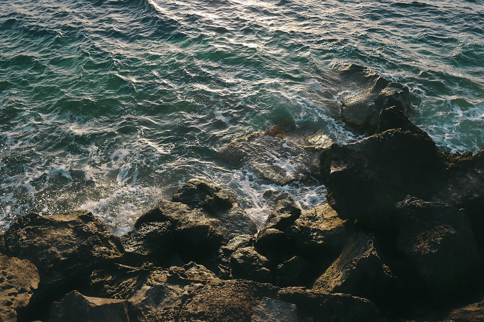 Sea, Ocean, Water, Waves, Nature, Rocks
