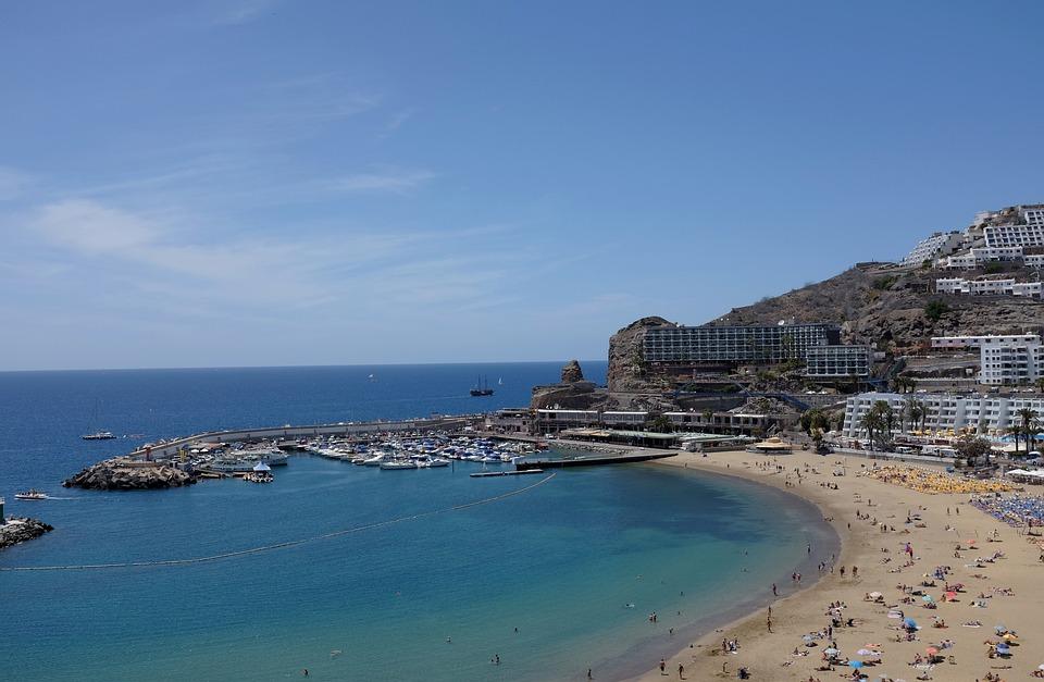 Seashore, Sea, Travel, Water, Beach, Seaside, Spain