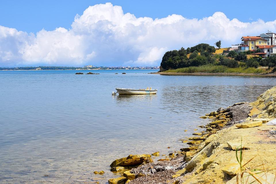 Fishing Boat, Sea, Water, Coast, Fishing, Ship, Idyllic