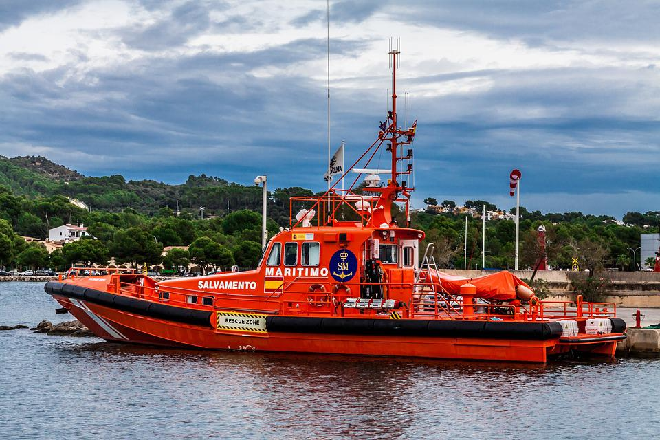 Ship, Rescue, Boat, Water, Sea, Emergency, Lifeboat
