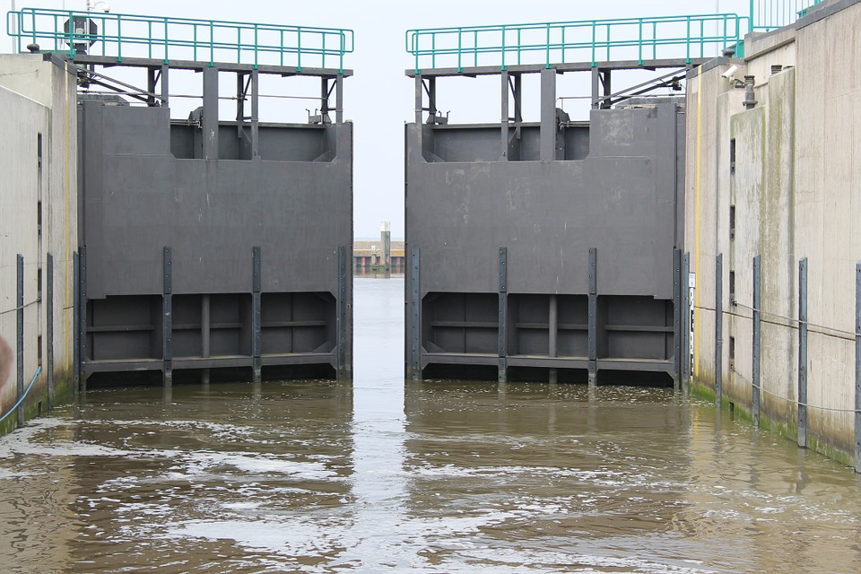 Locks, Water, Ferry, Ship, Sea, Port, Shipping