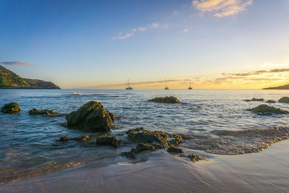 Mallorca, Beach, Water, Sky, Sea, Booked, Holiday