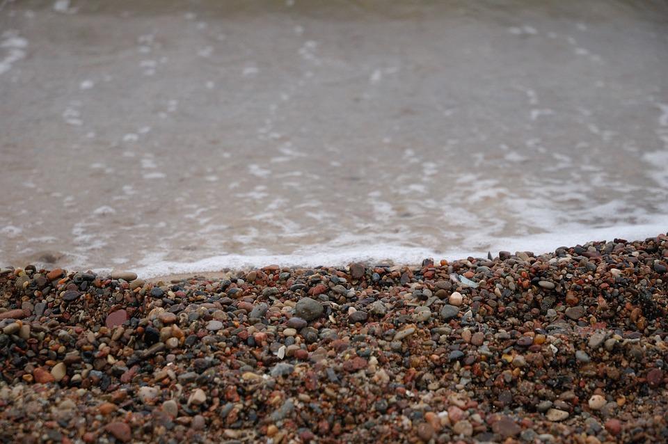 Sea, Rocks, Small, Beach, Water, Stone, Nature, Wave
