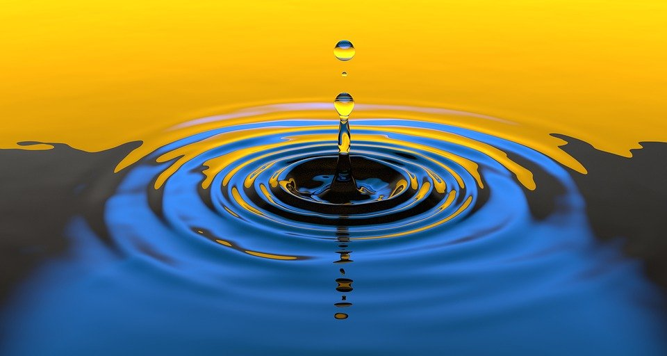 Water, Drop, Liquid, Splash, Wet, Clean, Clear, Falling