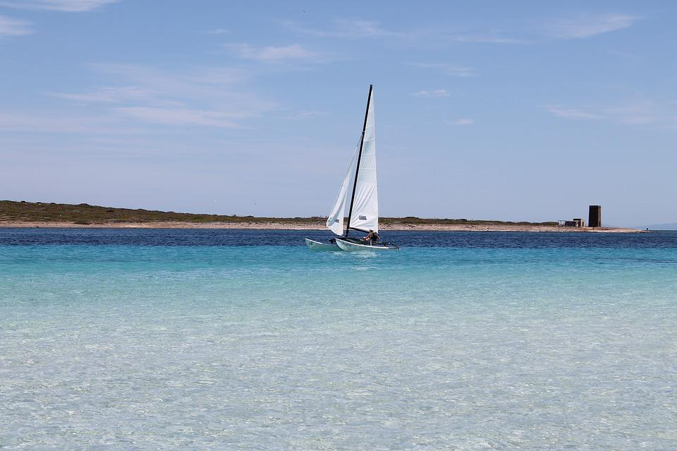 Sailing Boat, Water Sport, Sea
