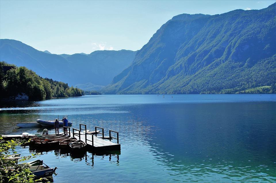 Lake Bohinj, Bohinj, Water Sports, Clear Water
