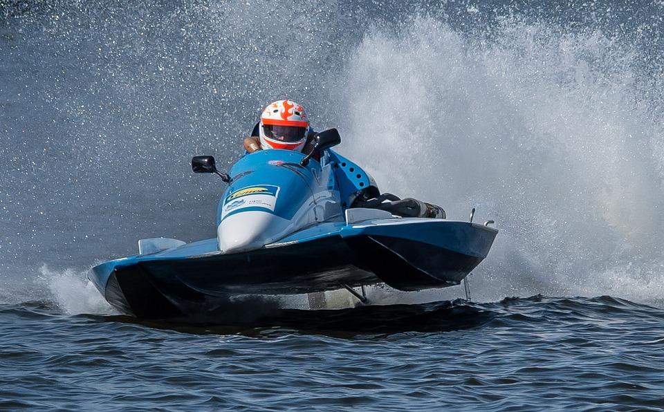 Racing Boat, Motor Boat Race, Water Sports, Waters
