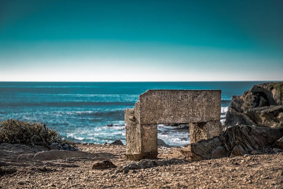 Coast, Bank, Stone, Water, Landscape, Nature, Ocean