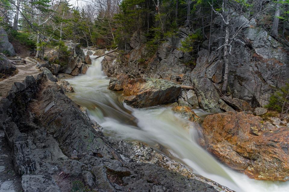 Water, Nature, Stream, Waterfall, River