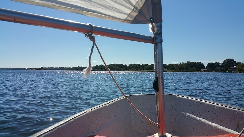 Dinghy, Sail, Boat, Sea, Water, Summer, Sailboat