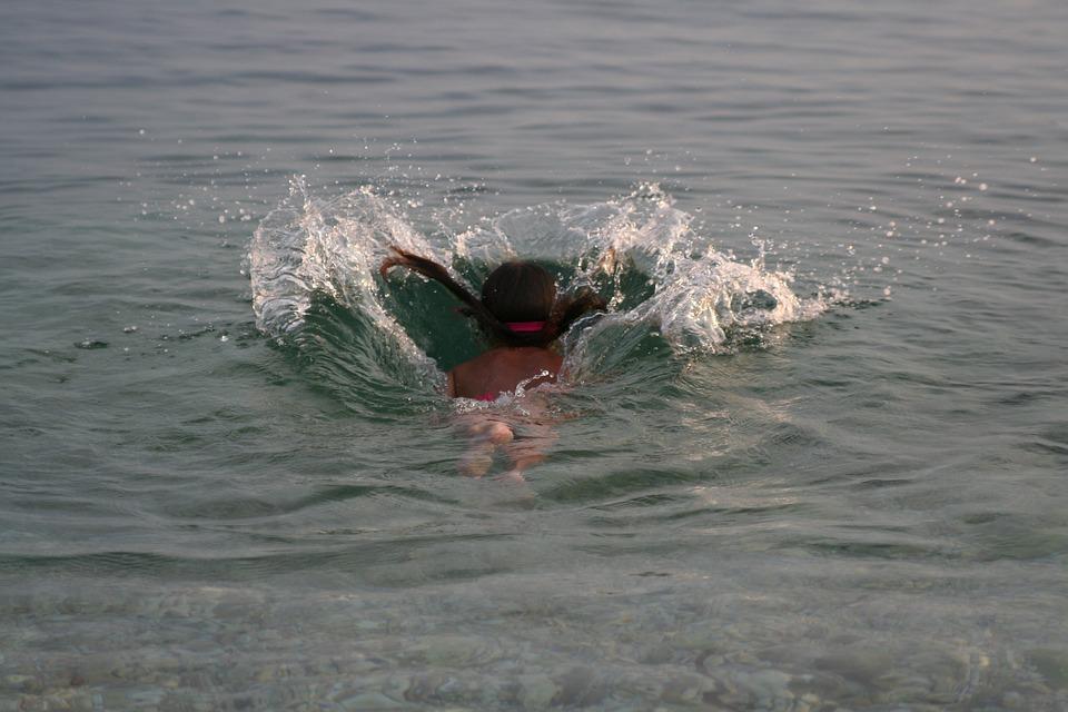 Jump, Swimming, Water