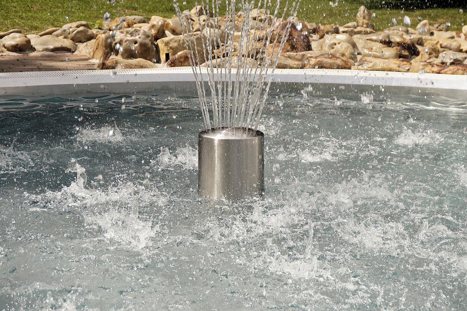 Water, Fontaine, Fountain, Water Feature, Swimming Pool