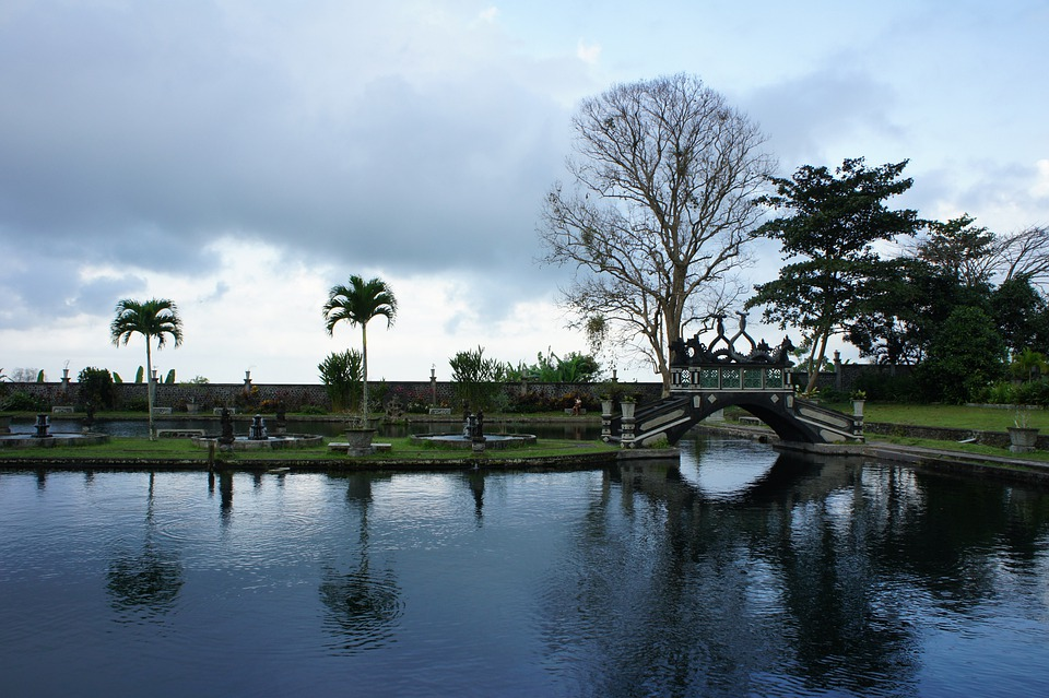 Bali, Water Temple, Holiday