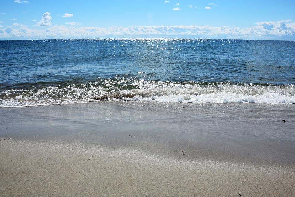 Sea, Water, Beach, The Coast, Sand, The Baltic Sea