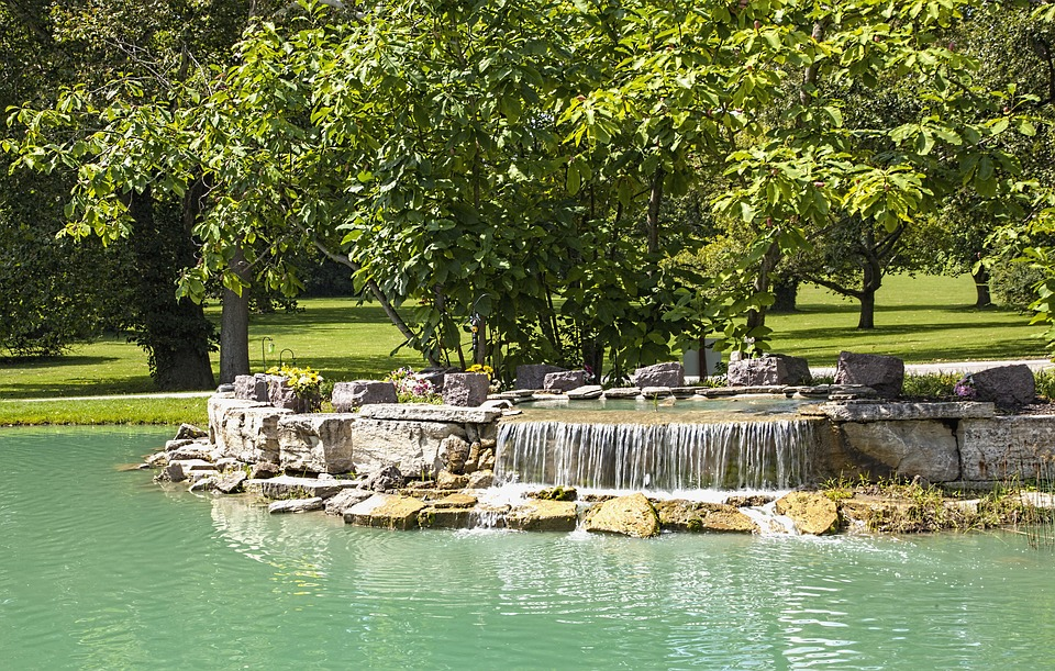 Water Effect, Water, Ferncliff, Scenery, Trees