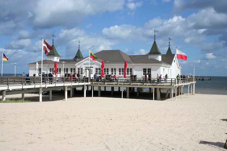 Usedom, Beach, Sea, Baltic Sea, Water, Vacations