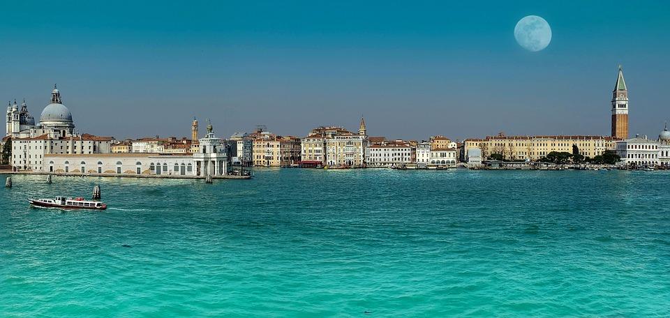 Venice, Italy, Water, City, Tourism, Travel, Sky