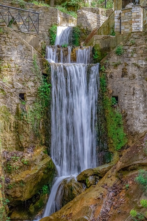 Waterfall, Countryside, Nature, Water, Scenic, Falls