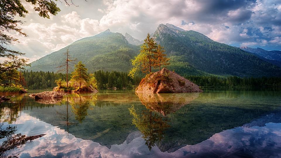 Waters, Nature, Mountain, Lake, Landscape, Water