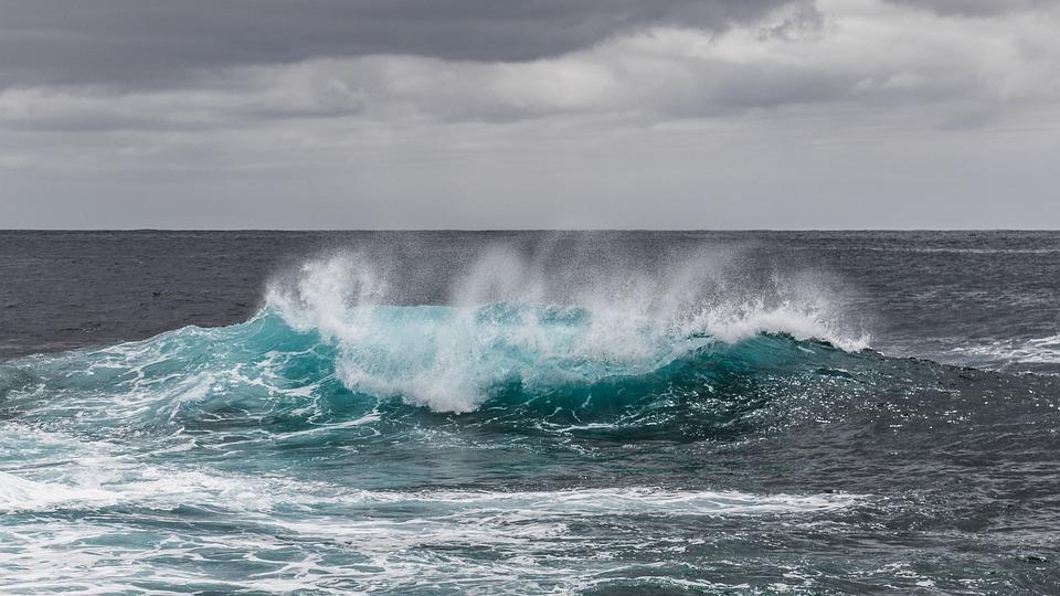 Water, Sea, Atlantic, Ocean, Wave, Spray, Pacific