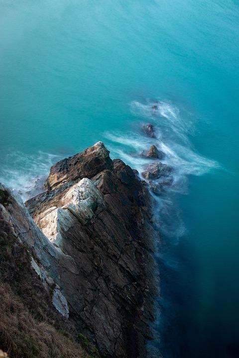 Coastal, England, Coast, Sea, Water, Ocean, Waves