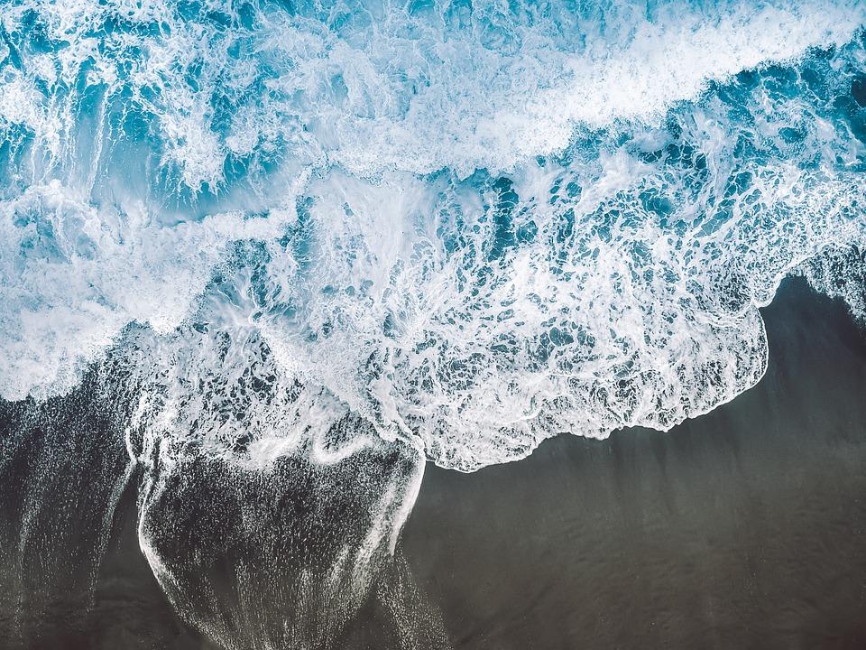 Beach, Waves, Sea, Ocean, Nature, Water, Landscape