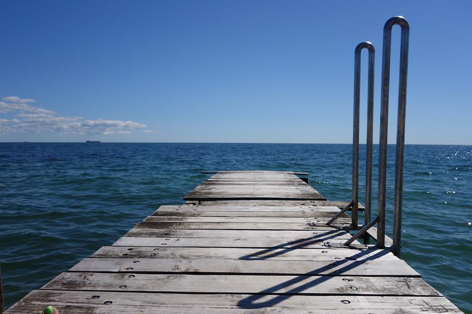 Web, Sky, Water, Baltic Sea, Blue Sky, Shadow, Nature