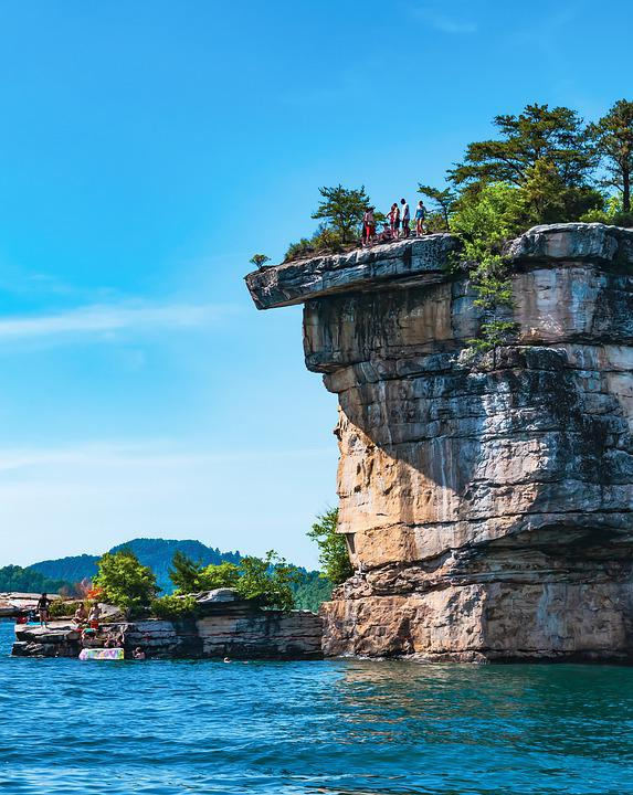 Summersville Lake, Wv, West Virginia, Water, Rafting
