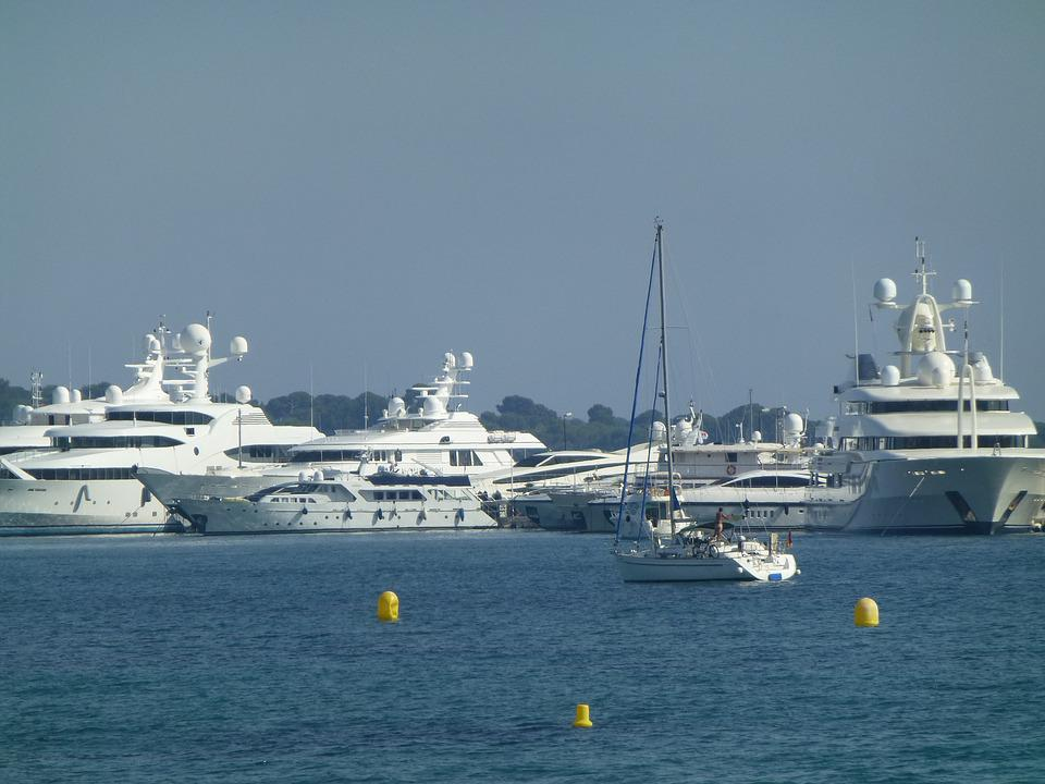 Nice, Yacht, Water, Holiday, Lake, Rich And Beautiful