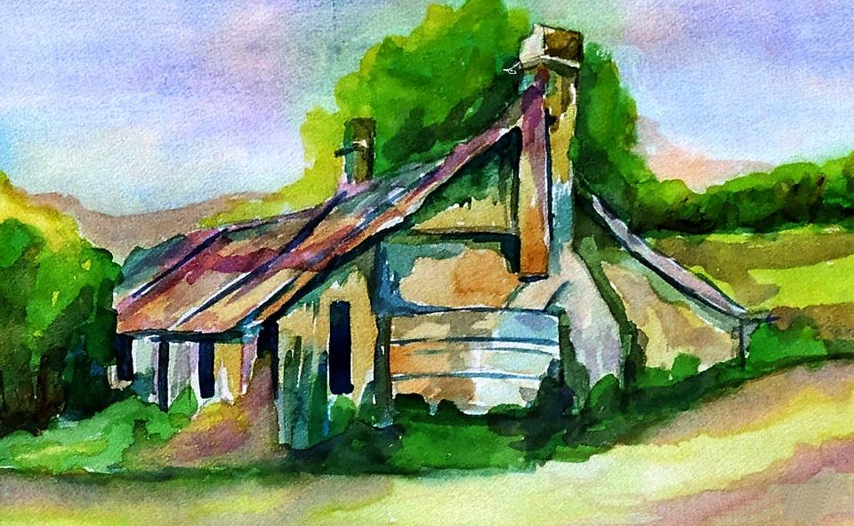 Watercolor, Paper, Paintbrush, Artist, Sketchbook