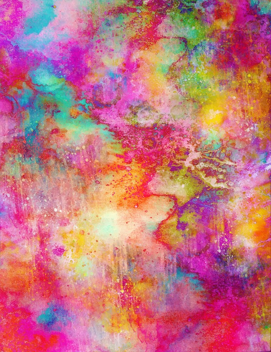Watercolor, Abstract, Design, Texture, Paint, Color