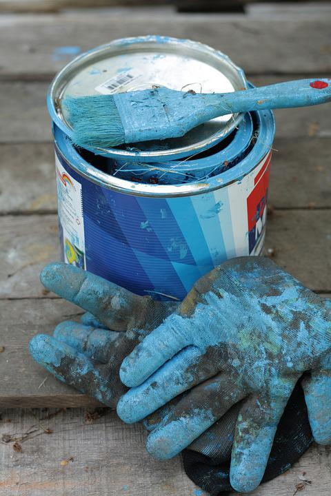 Paint, Dye, Stain, Watercolour, Blue, Indigo