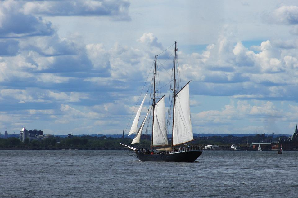 Water, Sailboat, Sail, Ship, Watercraft, Nyc