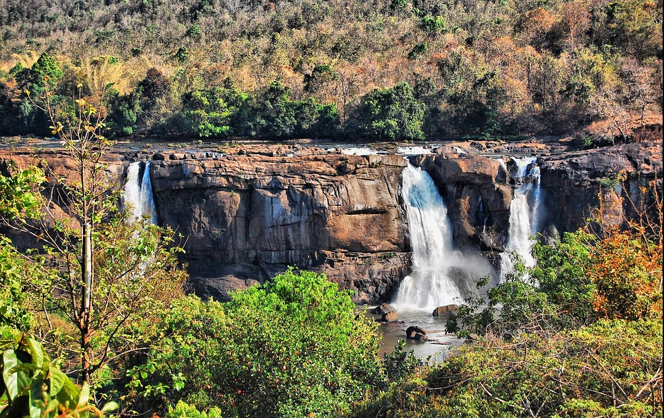 Waterfall, Athirappilly, Athirappilly Panchayath