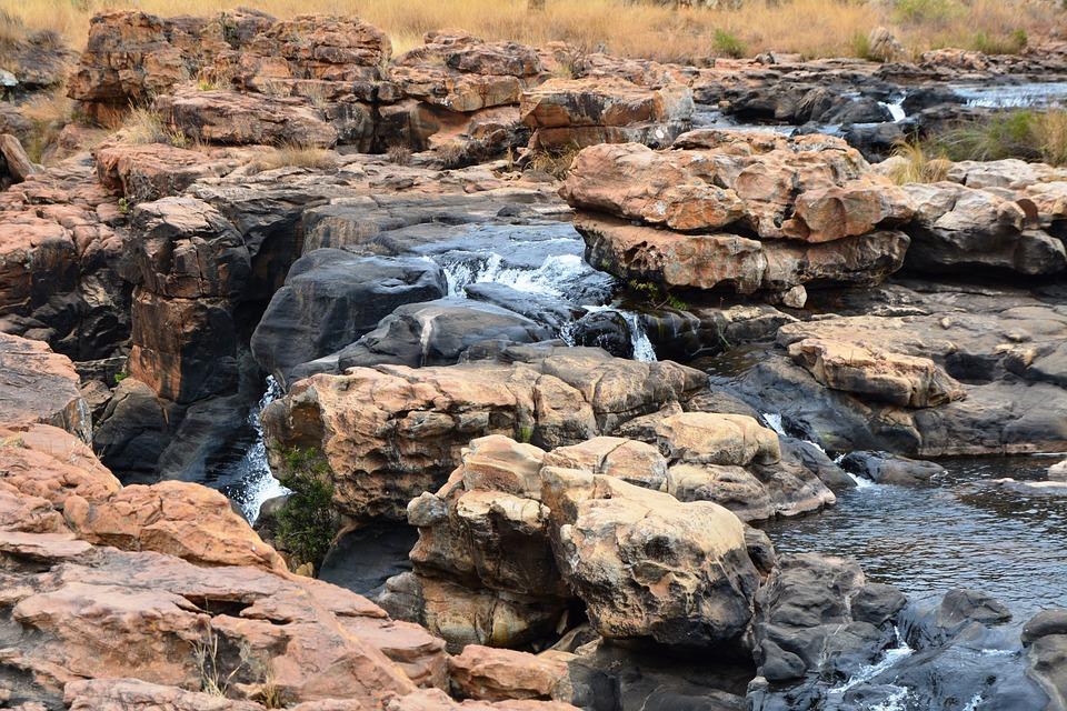 Waterfall, Bourkes' Luck Potholes, Geology, Geological