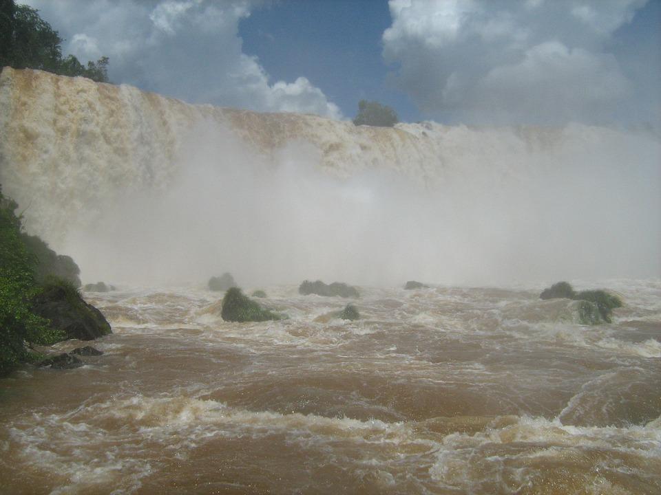 Waterfall, Brazil, Iguaçu