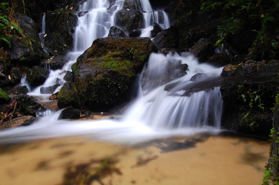 Waterfall, Serra, Brazil, Nature, Water