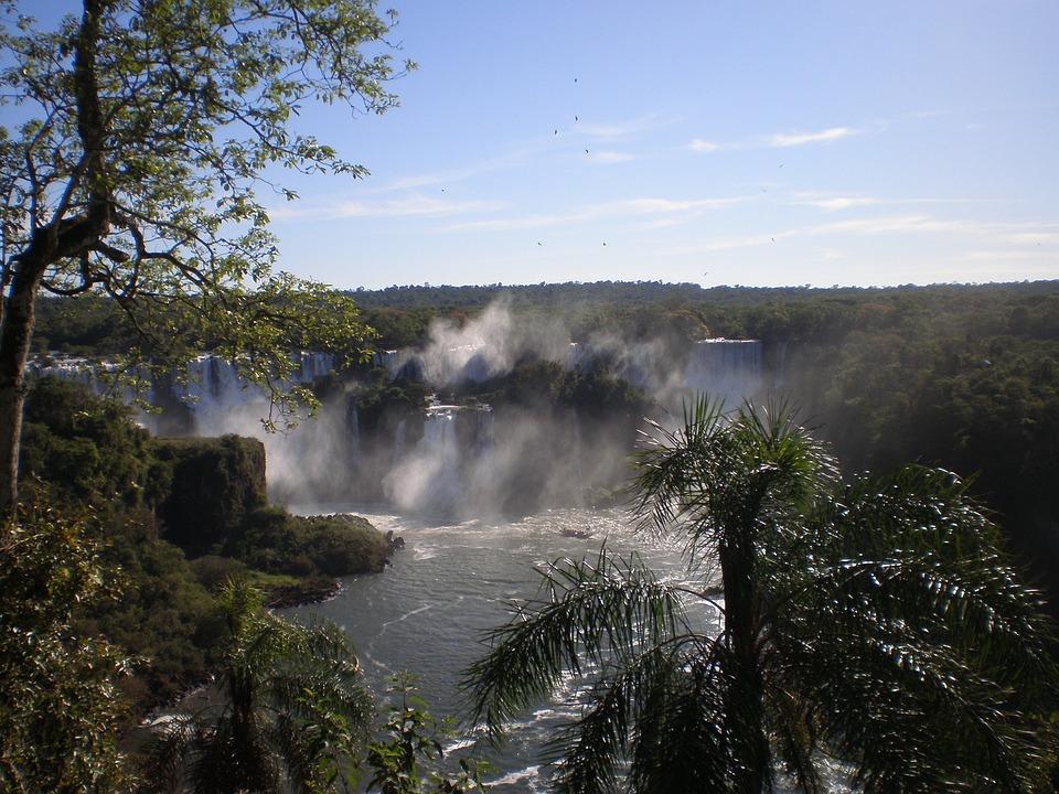 Waterfall, Cascade Falls, Iguazu