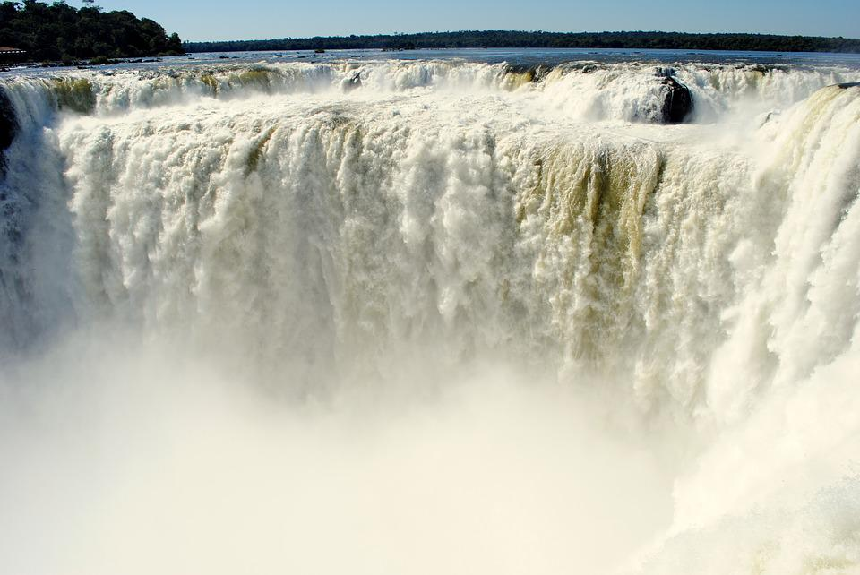 Iguazu Falls, South America, Iguazu, Waterfall