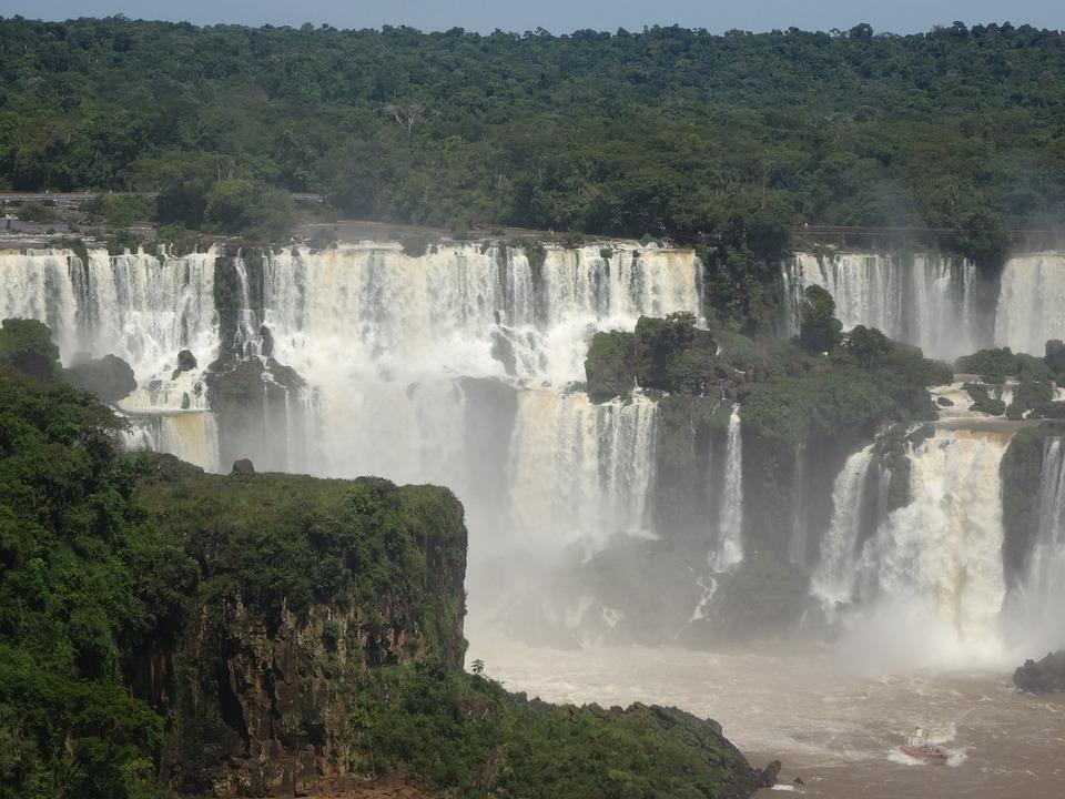 Brazil, Iguazu, Waterfall, Iguazu National Park