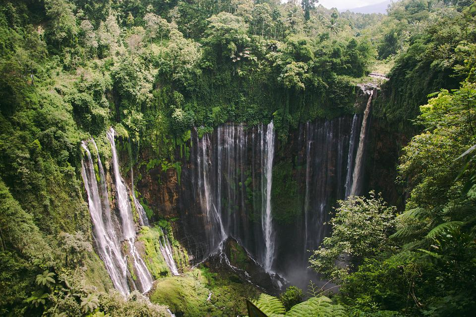 Waterfall, Tumpaksewu, Malang, Indonesia, Java