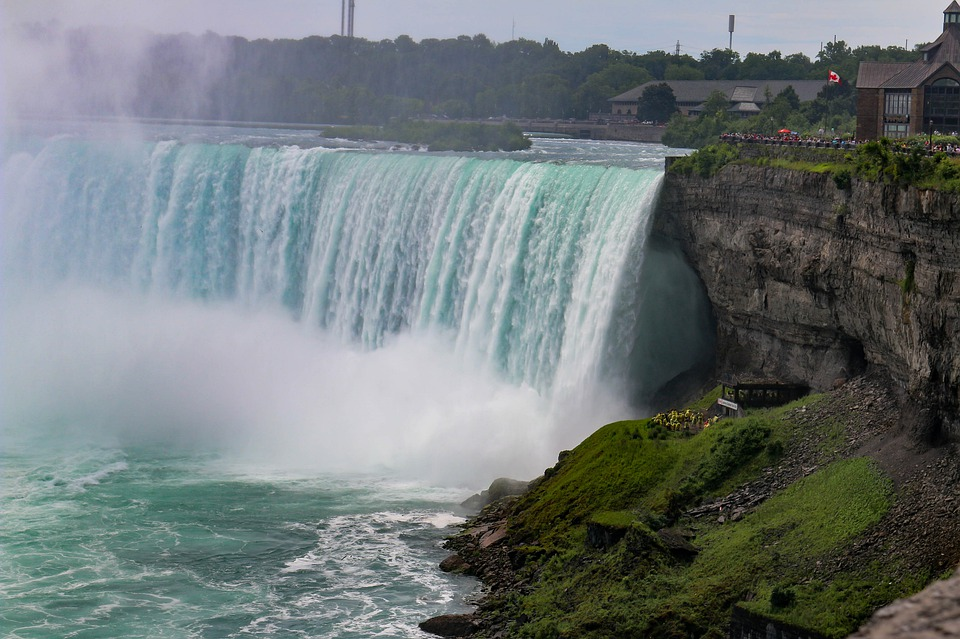 Waters, Waterfall, Travel, Landscape, Nature, Niagara