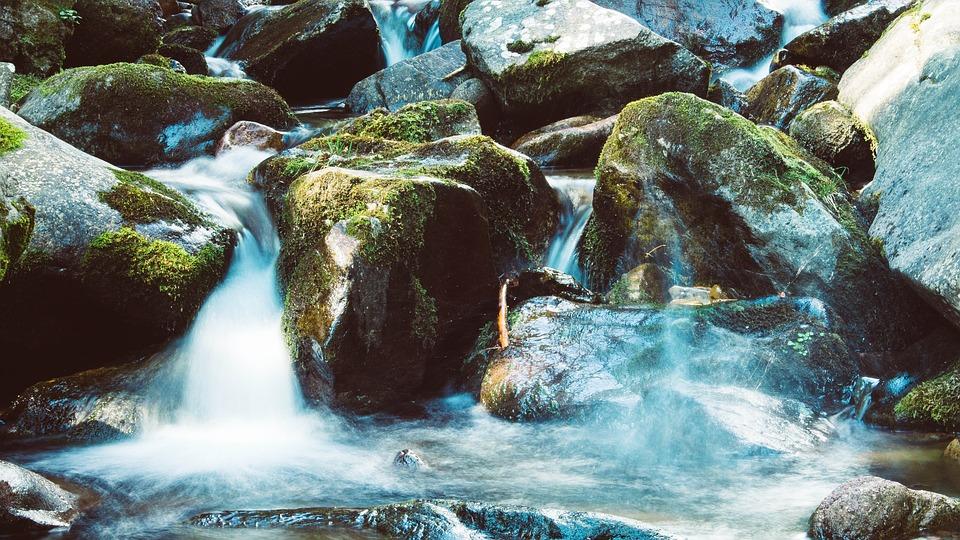 Waters, Nature, River, Waterfall, Stream, Water