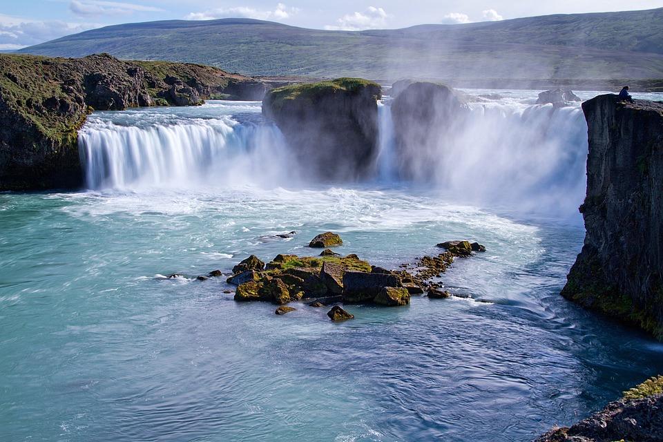Iceland, Volcanoes, Waterfall, Geyser, Volcanic, Steam