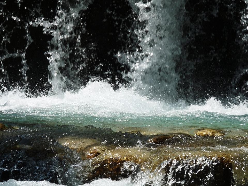 Water, Waterfall, Nature, Natural Water, River