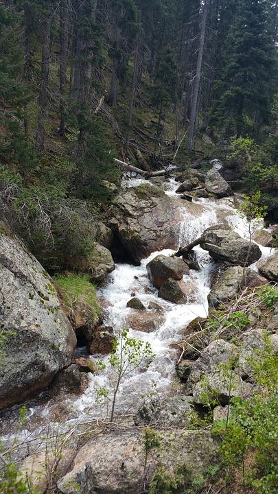 Waterfall, Rocks, Rocky, Nature, Water, Landscape